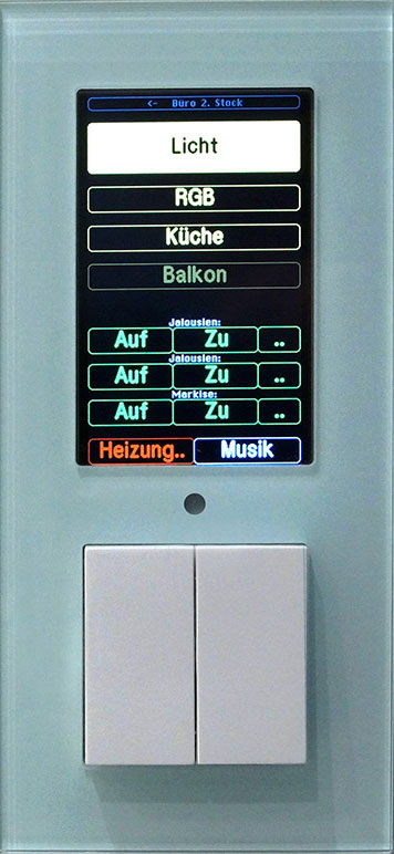SCLAN Touchpanel